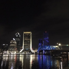 View of downtown from Friendship Fountain